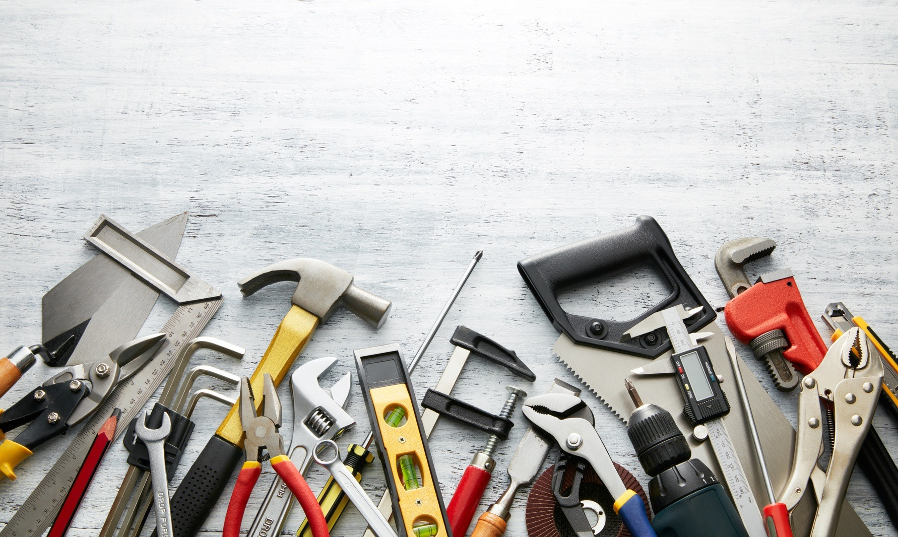 Tools and Fasteners in construction