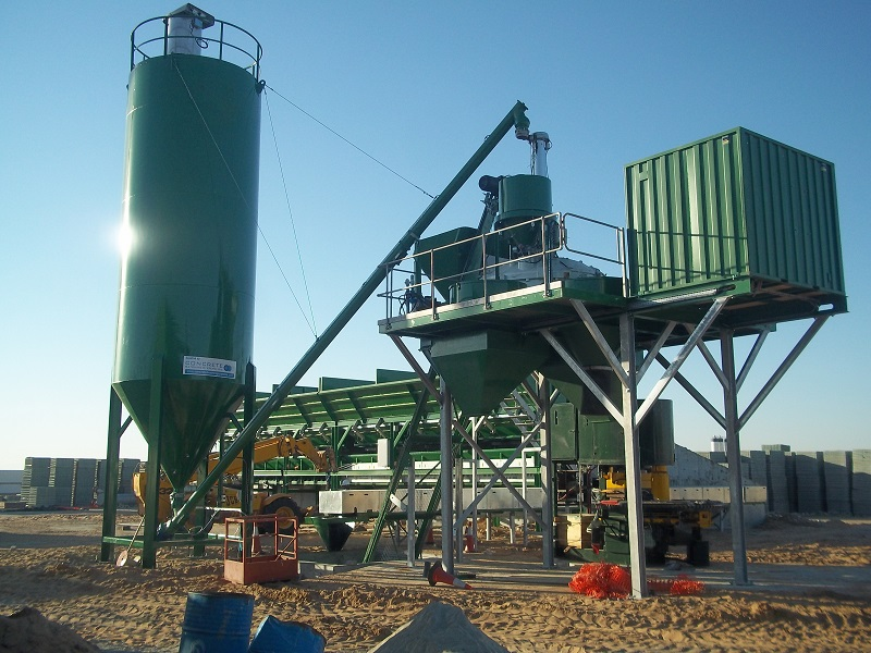Concrete batching in Africa