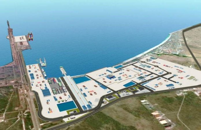 Construction works for South Africa's first offshore supply base underway