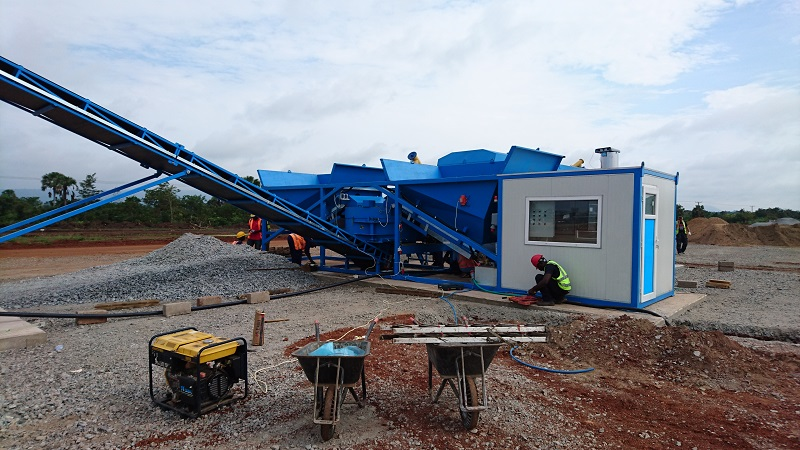 Mobile concrete batching plant costs