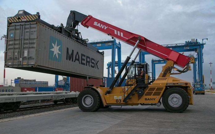 Kenya's Mombasa port gets two new cranes for SGR cargo