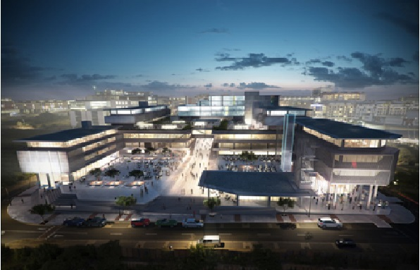 South Afriaca's US$ 78m mixed-use office and retail development almost complete