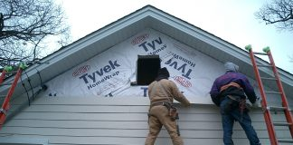 5 steps to siding your own house
