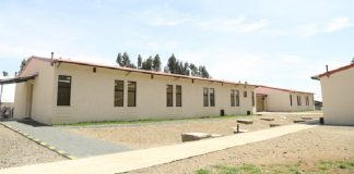 inauguration of health centre in Ethiopia