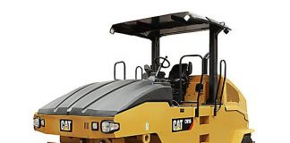 Cat's designs a new CW16 pneumatic roller features oscillation, auto speed