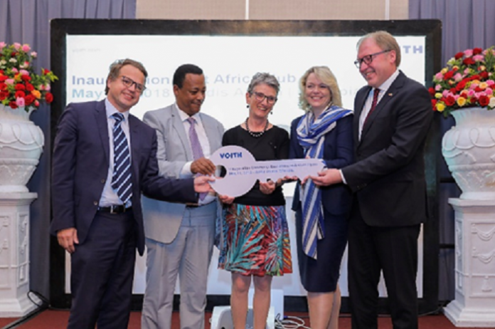 Voith opens a new center for hydropower projects in Ethiopia