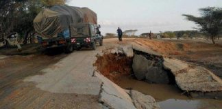 Kenya closes Kitale-Lodwar road for Kainuk Bridge repair