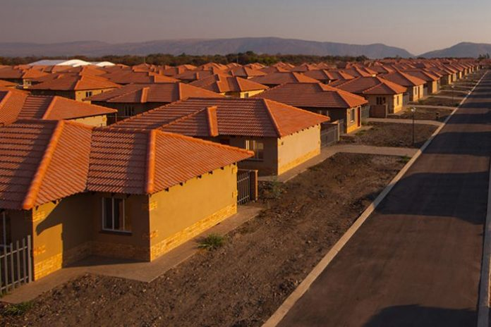 Construction of 1,727 housing units in Edo,Nigeria flagged off.