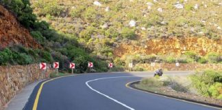 R44 route project in Western Cape