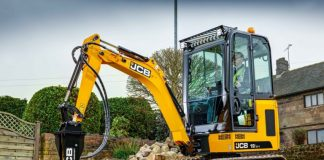 JCB introduces 19C-1, zero tailswing 18Z-1 compact excavators