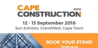 Cape Construction Expo; 12 and 13 September
