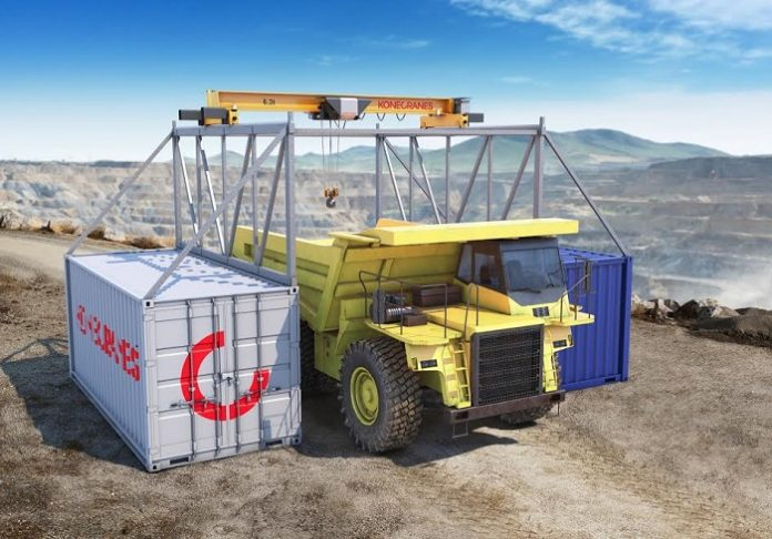 Konecranes introduces new crane to Africa: the CXT Explorer