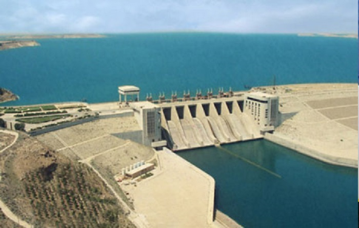 Works at the Stiegler's Gorge water project in Tanzania 80% complete