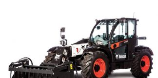 Bobcat unveils V723 VersaHandler, a low-profile tele with no DPF