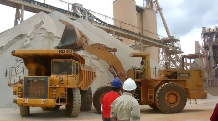 Kenya's consumption of cement drops