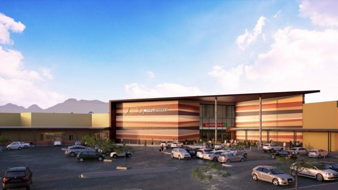 Maluti Crescent project in South Africa is well under way