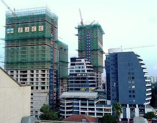 Kenya halts construction of its tallest building