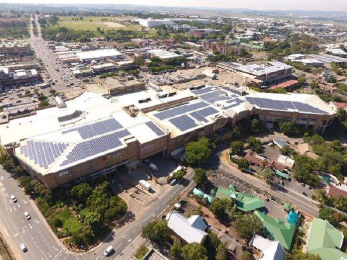 First solar PV plant to be installed at Liberty Midlands Mall in South Africa