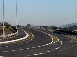 South Africa launches the newly improved Climor road bridge