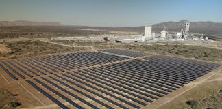 GILDEMEISTER energy solutions builds solar park in Namibia