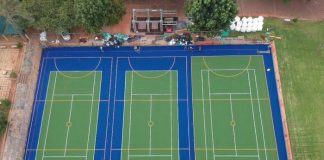 Turftech multi-use sports' facility enhances school in South Africa