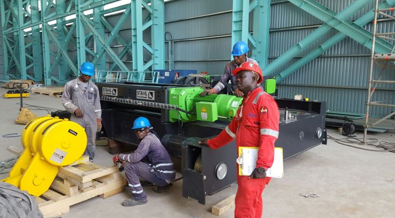 STAHL CraneSystems GmbH:The right partner for a strong Africa