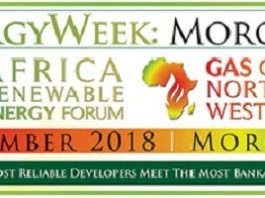EnergyWeek Morocco to welcome 400 energy decision-makers