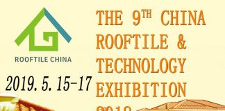 The 9th CHINA ROOFTILE & TECHNOLOGY EXHIBITION 2019