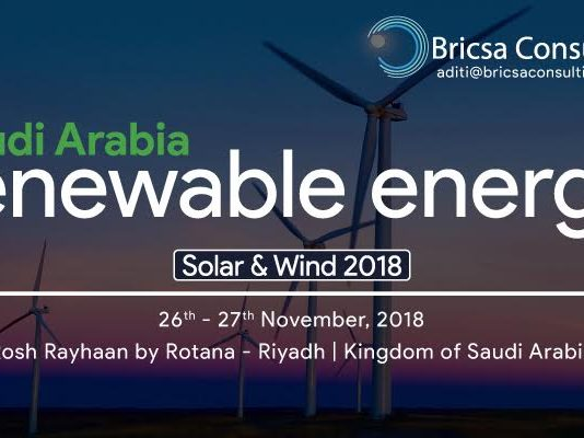 Saudi Arabia Renewable Energy Solar & Wind 2018