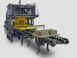 Prensoland launches a new machine for production of prestressed concrete