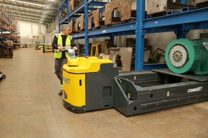 COMBILIFT Launches the COMBI-PPT: Powered pallet truck