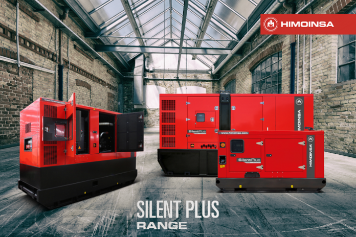 HIMOINSA introduces new silent plus generator set models