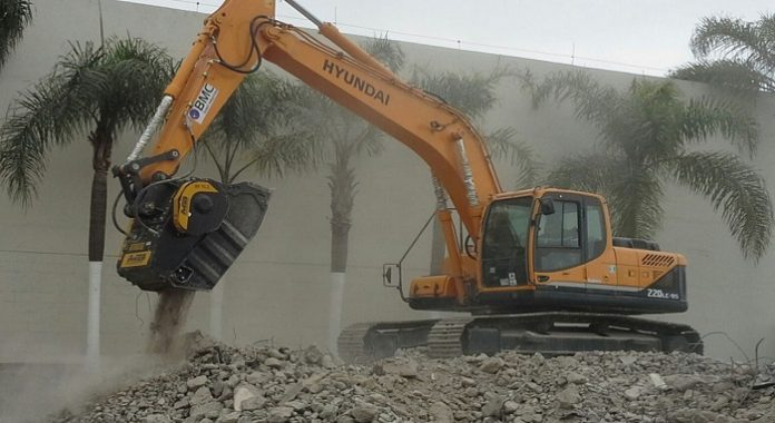 MB provides crusher buckets for a range of construction applications