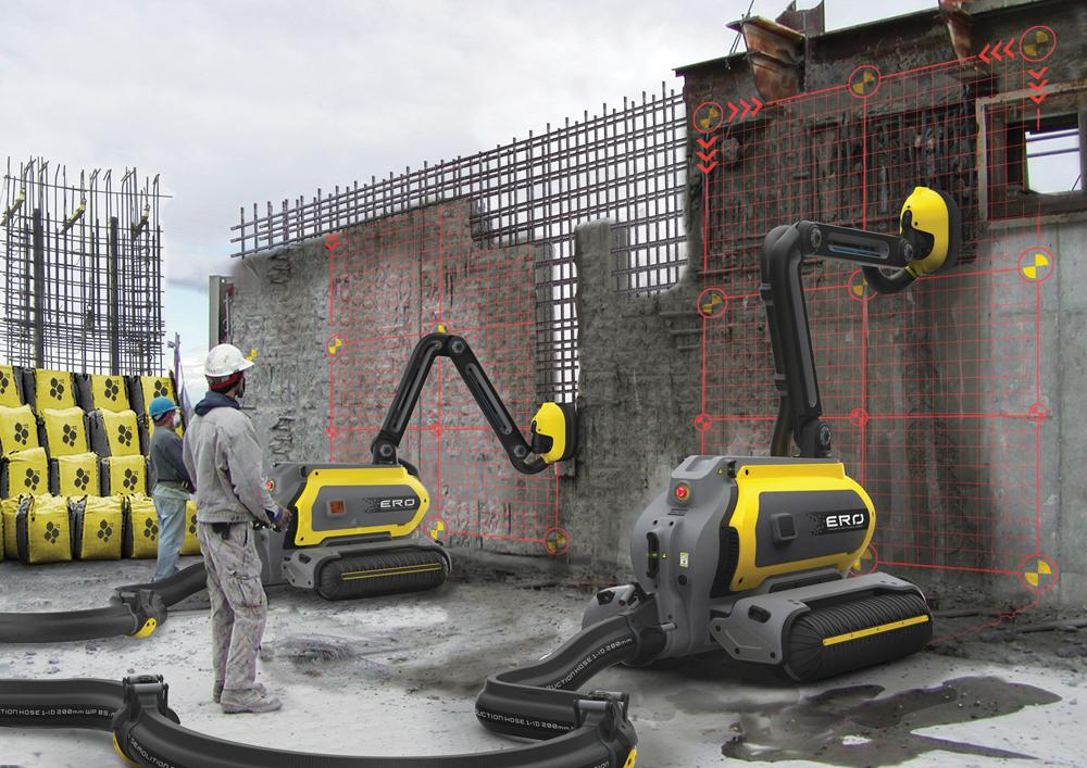 Construction Industry Goes Robotic