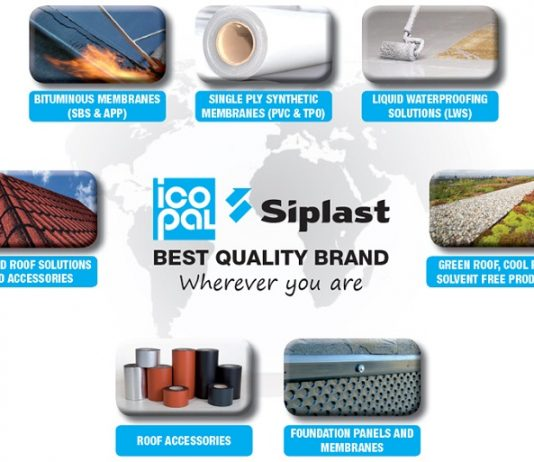 Siplast, the waterproofing specialist