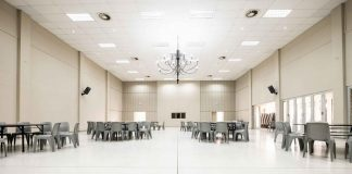 Recreation Club in South Africa refurbishes floors and pillars with Flowcrete Africa