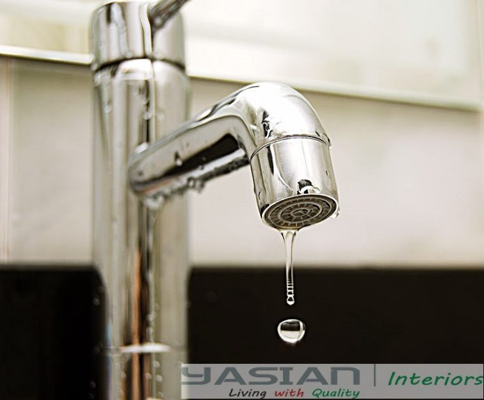 Common causes of leaky faucets