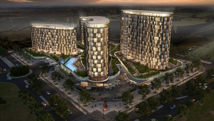 South Africa to launch first high rise luxury apartments in Waterfall city