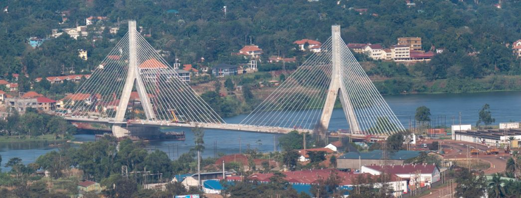 The New Nile cable stayed bridge