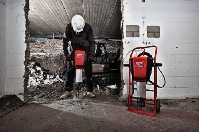 Upat launches latest heavy-duty breaking hammer from Milwaukee