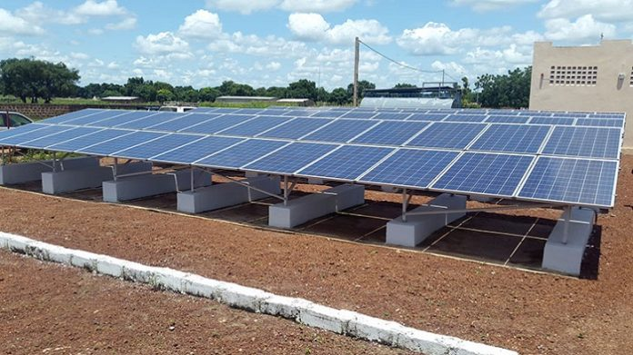 9% of solar energy to make progress in Africa in next 2 years