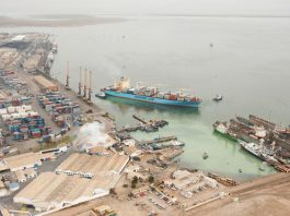Construction kicks of on Walvis Bay Port new container terminal in Namibia