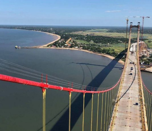 Africa's longest suspension bridge opens to the public
