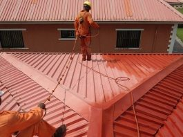 Roof restoration with Plusworld roofing