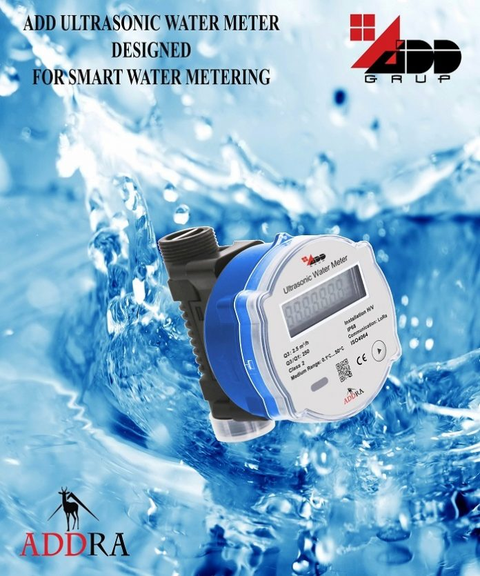 ADDRA smart water metering system from ADD GRUP