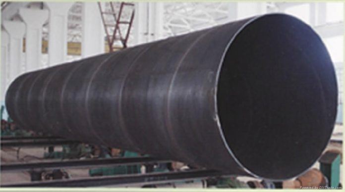 Production control measures for thick-walled spiral submerged arc welded steel pipe
