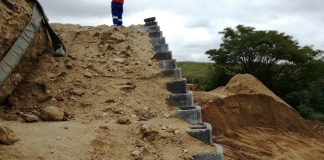 Kaytech Provides Reinforcement for CRB Wall in South Africa