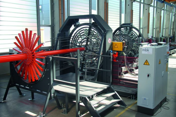 MBK expands its range of products with new cage welding machine