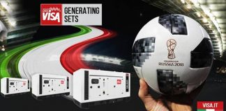 Visa Spa gensets were used to power the FIFA world cup Russia 2018