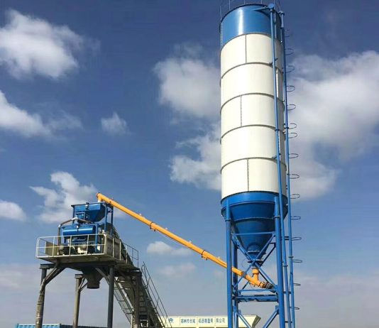 Camelway Hzs25 Concrete Mixing Station